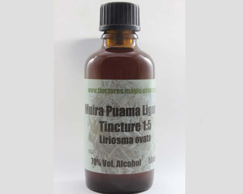 Muira puama lignum tincture