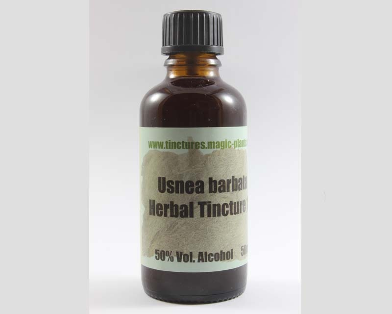 Usnea barbata herbal tincture