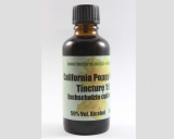 California poppy herbal tincture